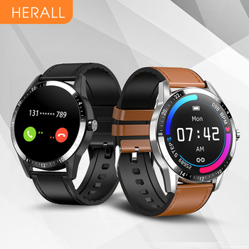 HERALL New Smart Watch Bluetooth Call Smartwatch Men Women Clock Sport Fitness Bracelet For Xiaomi Android Huawei Honor iOS 1