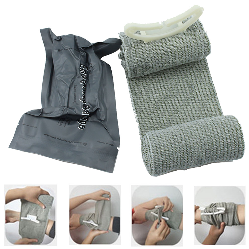 Sraeli Medice Bandage Trauma Dressing First Aid Medical Compression Bandage Emergency Bandage Outdoor First Aid Wound Hemostatic