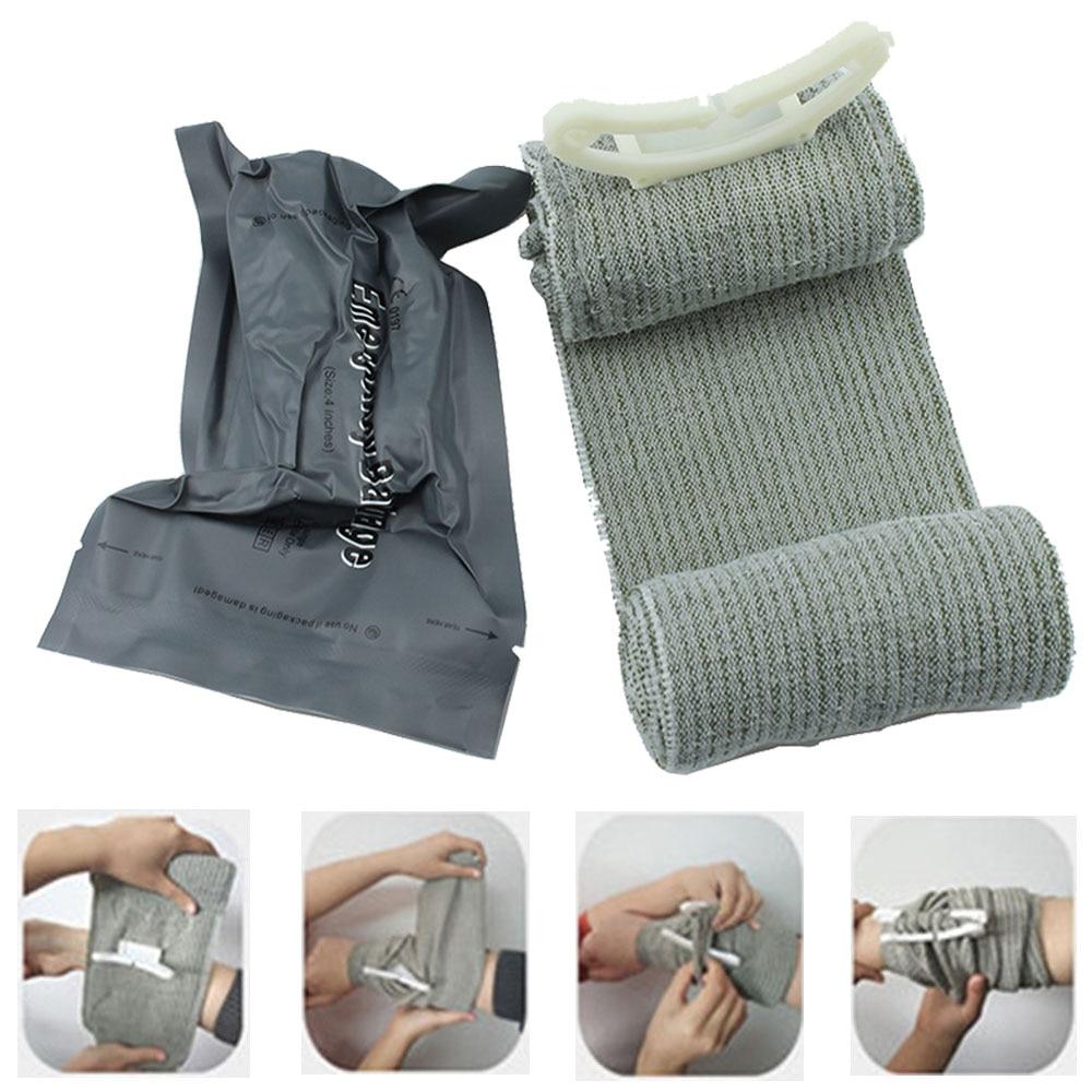 Sraeli Medice Bandage Trauma Dressing First Aid Medical Compression Bandage Emergency Bandage Outdoor First Aid Wound Hemostatic