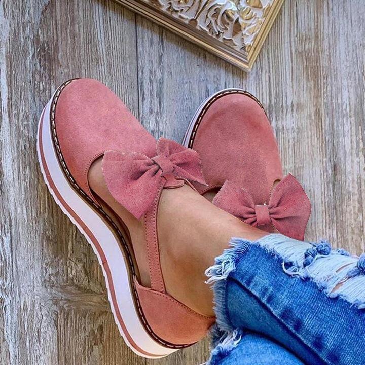 verão sapatos planos de couro do plutônio