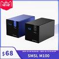 SMSL M100 ЦАП USB цифро-аналоговый преобразователь hifi декодер AK4452 DSD512 32 бит/768 кГц коаксиальный Оптический OTG Вход AUX мощность