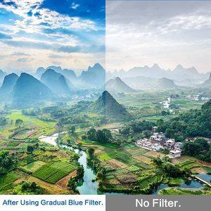 Image 5 - Filtr obiektywu aparatu DSLR UV ND FLD Star color 37 40.5 43 46 49 52 55 58 62 67 72 77 82 mm dla Nikon Canon Sony Fujifim Olympus