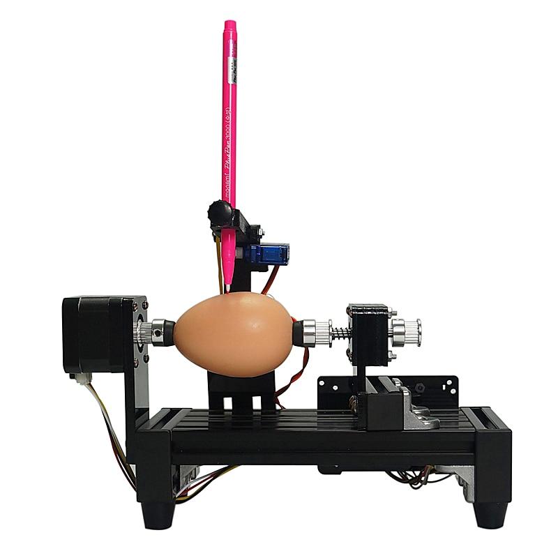 Demontiert normale größe ei drawbot Ei-zeichnung roboter ziehen maschine Kugeln zeichnung maschine auf ei und ball