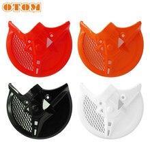 OTOM диск переднего тормоза мотоцикла Защитная крышка ротора для HONDA CRF250R CRF250RX CRF450R/RX аксессуары для кроссового мотоцикла