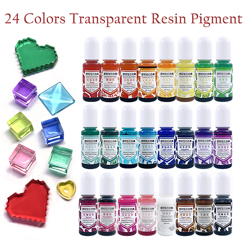 Crystal Epoxy UV Resin Dye Pigment Quick Dry Resin Adhesive Glue For DIY Jewelry Making Crafts Accessories