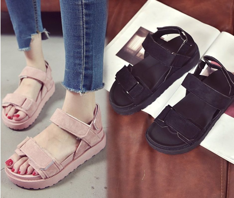 Flats Sandals Summer Women Sandals Fashion Casual Shoes For Woman European Rome Style Sandals