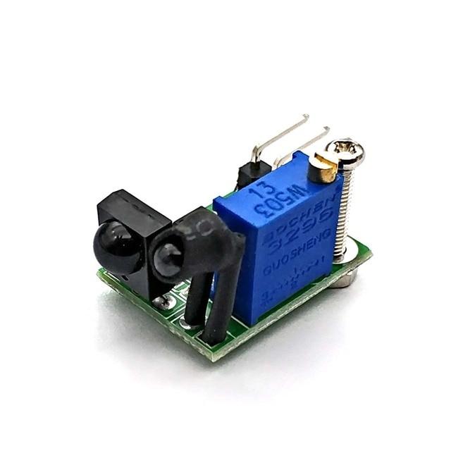 MK00169 New Infrared Digital Obstacle Avoidance Sensor Super Small 3 100cm Adjustable Current 6mA