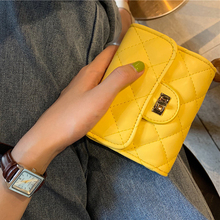 купить Small Crossbody Bags Korean Version Rhombic Chain Small Square Bag Shoulder Messenger Bag Fashion Lock Buckle Handbag Mini Bag по цене 593.32 рублей