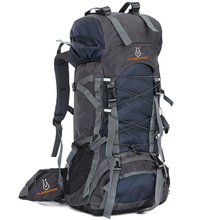 60L نايلون/أكسفورد مقاوم للماء حقيبة جافة في الهواء الطلق عالية الجودة حقيبة السفر الرجال النساء التخييم تسلق الجبال حقائب ظهر للجري