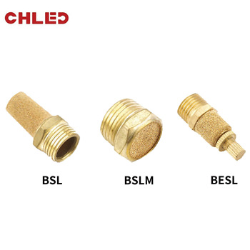 Fitting Noise Filter Reducer Connector BSLPneumatic  BSL M5 1/8 1/4 3/8 1/2 Silencers Fitting Noise Filter Reducer fitting noise filter reducer connector copper pneumatic brass exhaust muffler bsl m5 1 8 1 4 3 8 1 2 silencers
