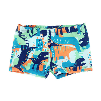 4-10 Y chłopcy jednoczęściowy strój kąpielowy zwierzęta kreskówkowe drukuj dzieci kąpielówki dla dzieci basen dla dzieci kostium dla dzieci piaszczysta plaża krótka tanie i dobre opinie changhants CN (pochodzenie) Pasuje na mniejsze stopy niezwykle Proszę sprawdzić informacje o rozmiarach ze sklepu sw0712