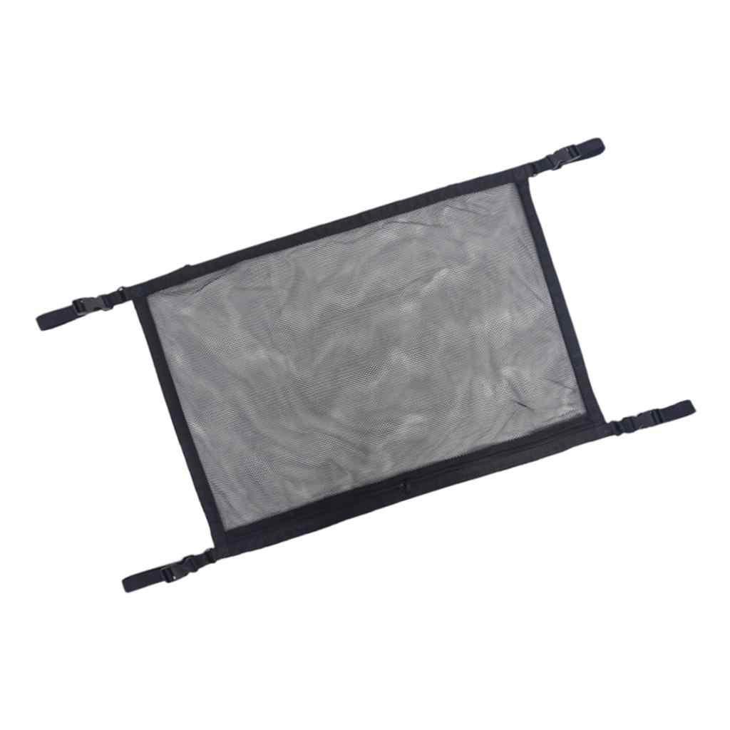 Saco de armazenamento do telhado do carro organizador respirável da malha do tronco fácil instalar