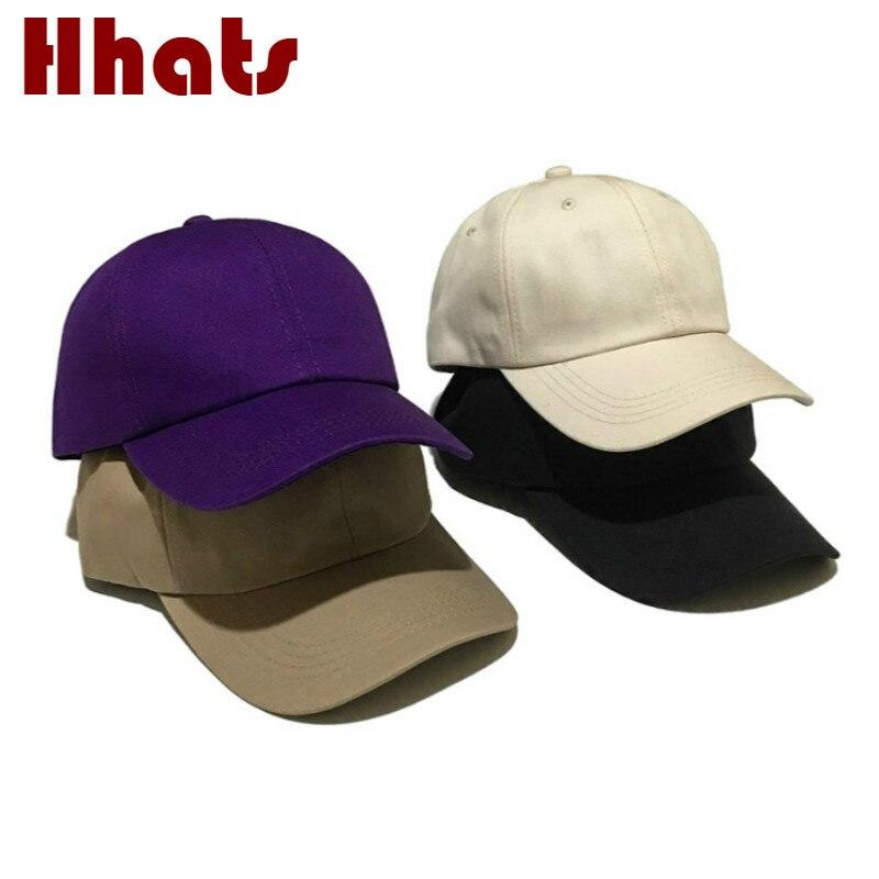 Snapback Hat Baseball Cap Flat Trucker Solid Plain Blank Men Hip Hop Adjustable