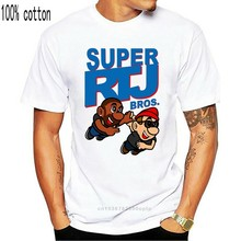 Camiseta masculina super rtj bros. Executar As Jóias T Camisa Impresso T-shirt T-shirt top
