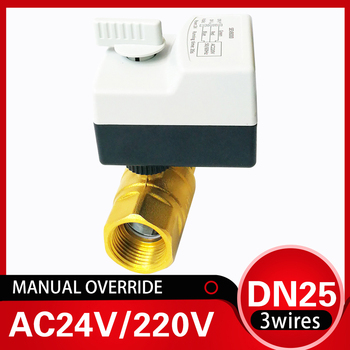 1 inch Full bore  Electric motor valve AC220V,  3 wires 2 control electric motorized water valve DN25 2-way valve for irrigation upvc 2 way dn40 plastic electric valve tf40 p2 c ac dc9 24v 2 wires 11 2 normal close valve 10nm on off 15 sec metal gear ce