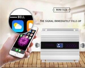 Image 5 - Усилитель сотового сигнала, 4G, 1800 МГц, DCS, ЖК дисплей, усилитель сигнала сотового телефона, Yagi + потолочная антенна, 5D коаксиальный кабель