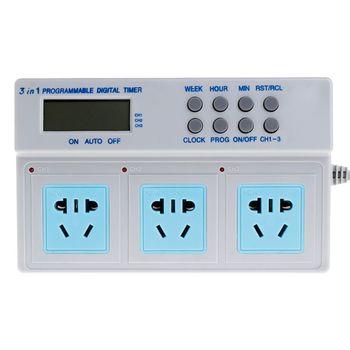 AU Plug Highpower микрокомпьютер управления 3в1 программируемый цифровой таймер разъем U1JB