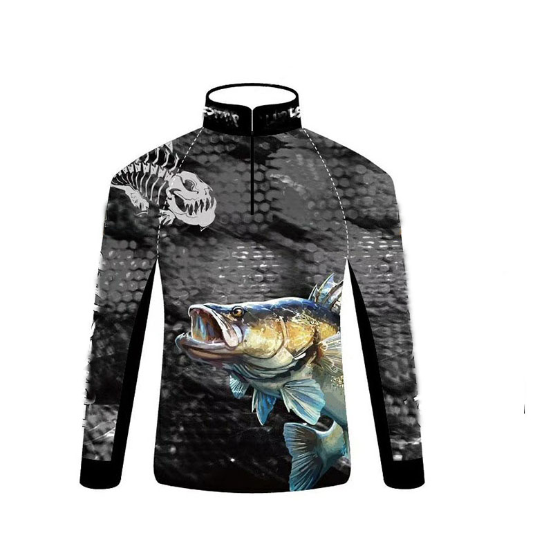 Professional Summer Fishing Clothes Men Lightweight Soft Sunscreen Clothing Anti-UV Jersey Shirts Breathable Quick Dry T Shirt