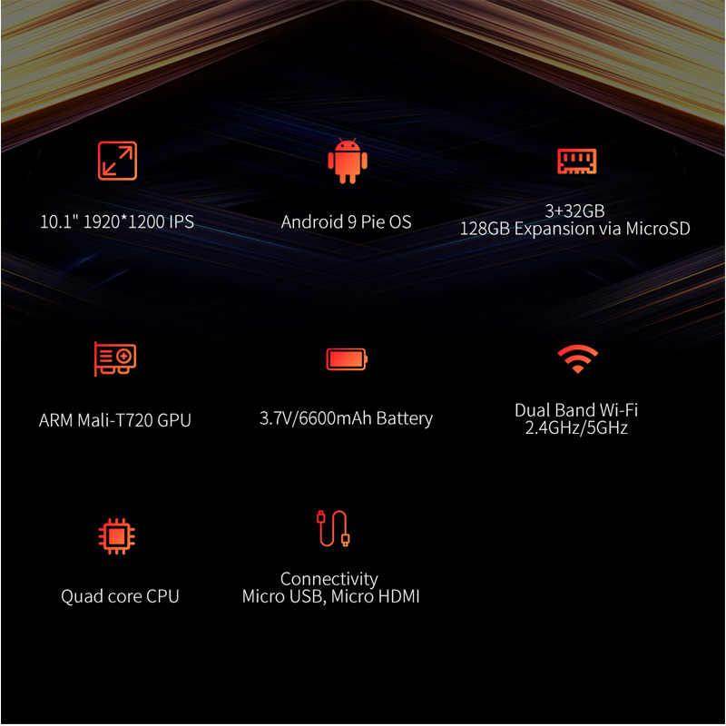 Alldocube IPlay10 Pro 10.1 Inch Wifi Tablet Android 9.0 MT8163 Quad Core 1200*1920 Ips Tabletten Pc Ram 3 gb Rom 32 Gb Hdmi Otg