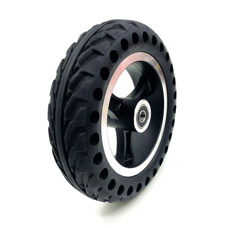 "200x50 Mobility Scooter wheelchair wheels tyre 8x2"" inch Solid Tire and alloy wheel hub For Gas Scooter Electric Scooter Vehicle"