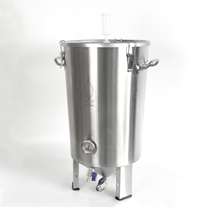 32L ev demlemek konik bira fermantasyon tankları mikro bira fermantasyon tankı. Şarap fermenter paslanmaz çelik 304