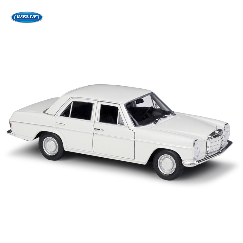 WELLY 1:24 Mercedes Benz Mercedes-Benz 220 Simulation Alloy Car Model Crafts Decoration Collection Toy Tools Gift