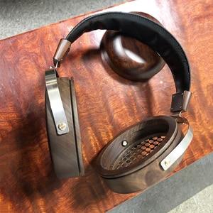Image 4 - 105mm Large Headphone Housing Open Type Headset Headphone DIY Customized Wood Headphone Shell Case