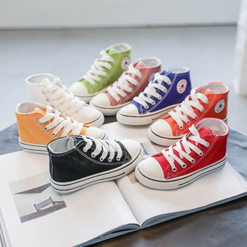 2020 Kids Canvas Sneakers Shoes Baby Boys and Girls Shoes Breathable Summer Fashion Children Shoes