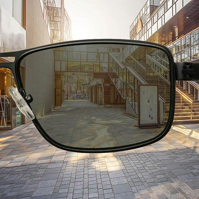 AOFLY Brand 2020 Fashion Sunglasses Men Polarized Square Metal Frame Male Sun Glasses Driving Fishing Eyewear zonnebril heren 4