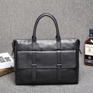 Image 5 - KUDIAN BEAR maletín sencillo de cuero para hombre, famosa marca, negocios, portátil, de hombro, BIG001, PM49