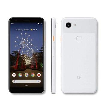 Перейти на Алиэкспресс и купить Абсолютно Новый google pixel 3A XL LTE мобильный телефон 6,0 дюйм4 Гб RAM 64B ROM Snapdragon 670 Octa core Android 9,0 смартфон с отпечатком пальца