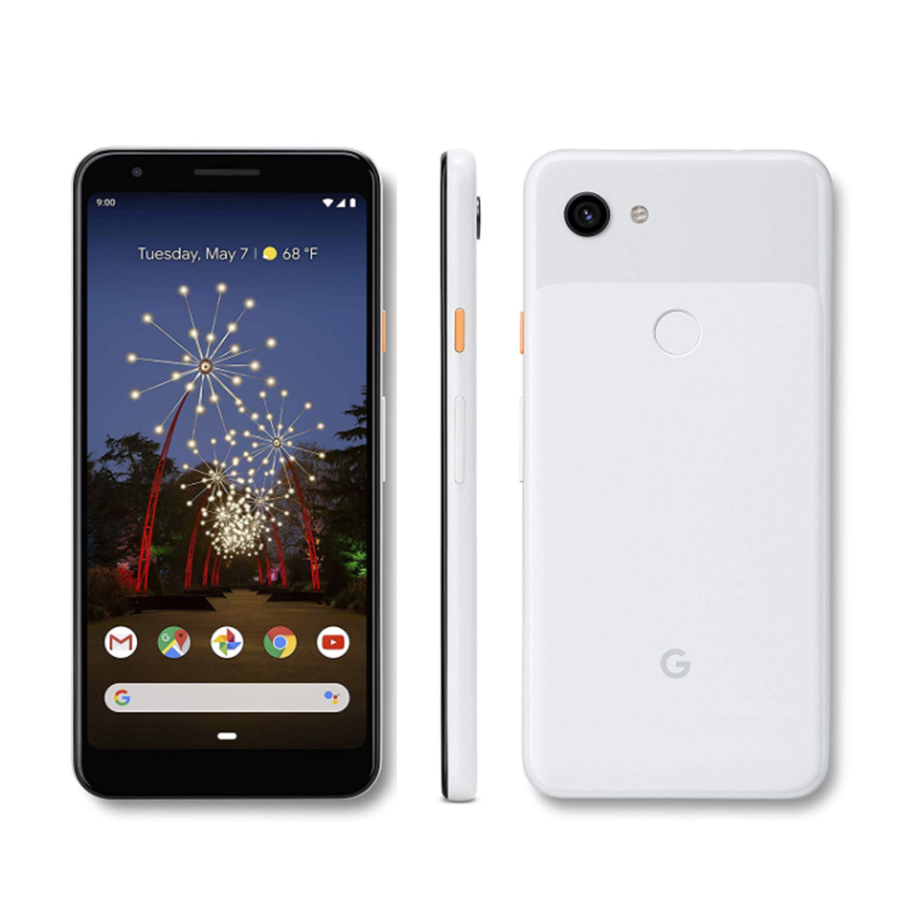 Brand New google pixel 3A XL LTE Mobile Phone 6.0 4GB RAM 64B ROM Snapdragon 670 Octa core Android 9.0 Fingerprint Smart Phone image