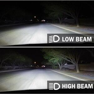 Image 5 - BraveWay H4 Led عدسة المصباح مصابيح سيارات Atuo مصابيح 12 فولت LED CANBUS LED H4 المصابيح مع أجهزة عرض صغيرة ضوء 5500K