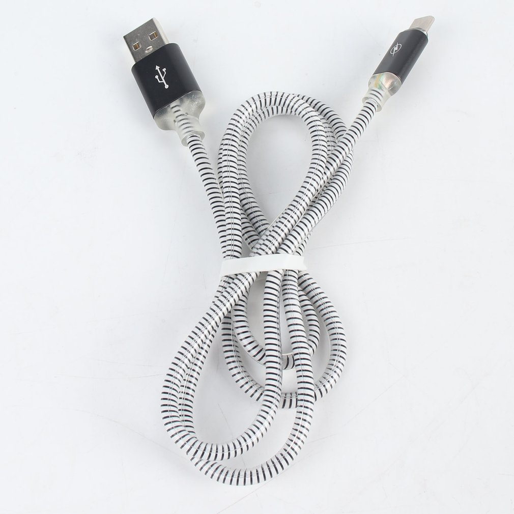 USB Type-C Charger Date Cable Colorful Light Phone Charger Phone Charging Cord Quick Transfer Phone Accessories