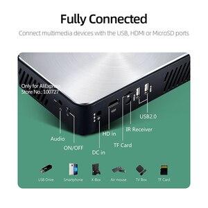 Image 4 - VIVIBRIGHT Full HD Projektor J10, 1920x1080P, Android, WIFI, HD in. 6000mAH Batterie, Tragbare MINI Projector.1080P Heimkino
