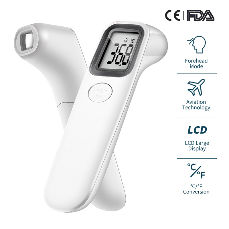 Digital Electronic Thermometer Baby Forehead Thermometer Non-Contact Infrared Thermometer Body Temperature Measurement For Child