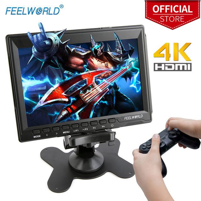 FEELWORLD 7 inch Portable LCD HD Gaming Monitor 4K HDMI IPS HD Screen Display Game Monitors for XBOX  1