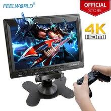 FEELWORLD Monitor LCD portátil para videojuegos, pantalla HD de 7 pulgadas, 4K, HDMI, IPS, para XBOX ONE, PS3, PS4, Switch, ordenador portátil
