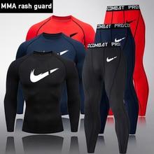 Brand Men's Compression Skin Thermal Underwear Men's Sports Basic Hot Long Under