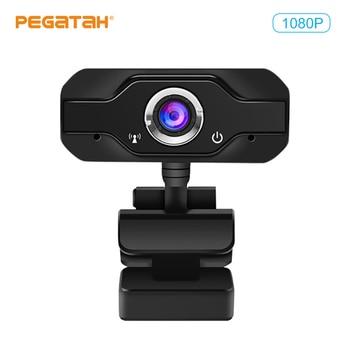 Speaker Webcam 1080p Web Camera with Microphone PC Camera Full HD Webcam 1080p Web Cam for Computor Usb Camera With Webcam Cover 2