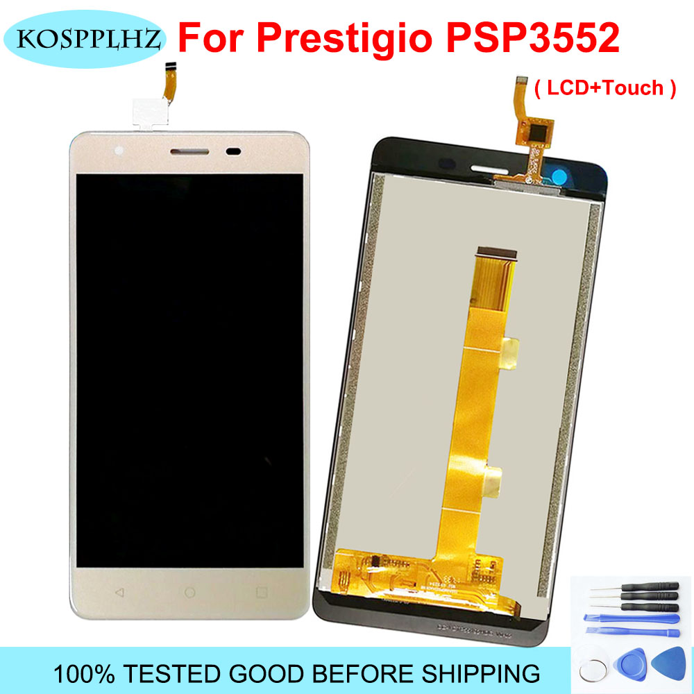 1920*1080 5.5 inch 100% TESTED LCD For Prestigio Muze H3 PSP3552DUO psp 3552 <font><b>duo</b></font> <font><b>psp3552</b></font> LCD Display And Touch Screen assembly image