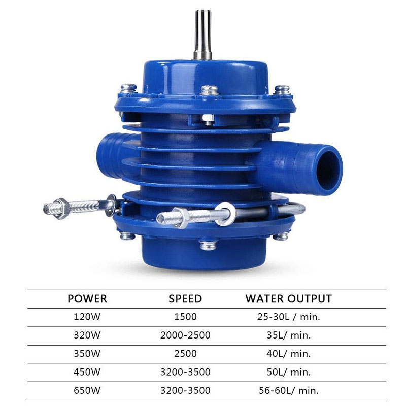 Image 5 - Hand Electric Drill Self Priming Water Pump DC Centrifugal Pump Household Small Submersibles Motor Home Garden DrainagePumps   -