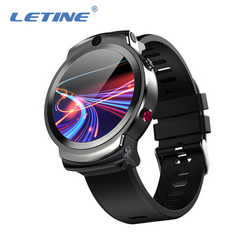 Smart Watch 2020 Android 1.6Inch Dual Camera 360 Degree Rotation WIFI GPS 3+32GB Heart Rate Monitor Sim 4G Mobile Watch Phone free shipping makibes mk01 smart watch 1mb 16gb wifi 4g gps heart rate bluetooth quad core google map browser i7 watches phone