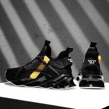 Трендовая амортизирующая спортивная обувь с лезвием; дышащая Спортивная обувь для мужчин; беговые кроссовки на шнуровке; коллекция 360 года; прогулочная Мужская обувь; Zapatillas