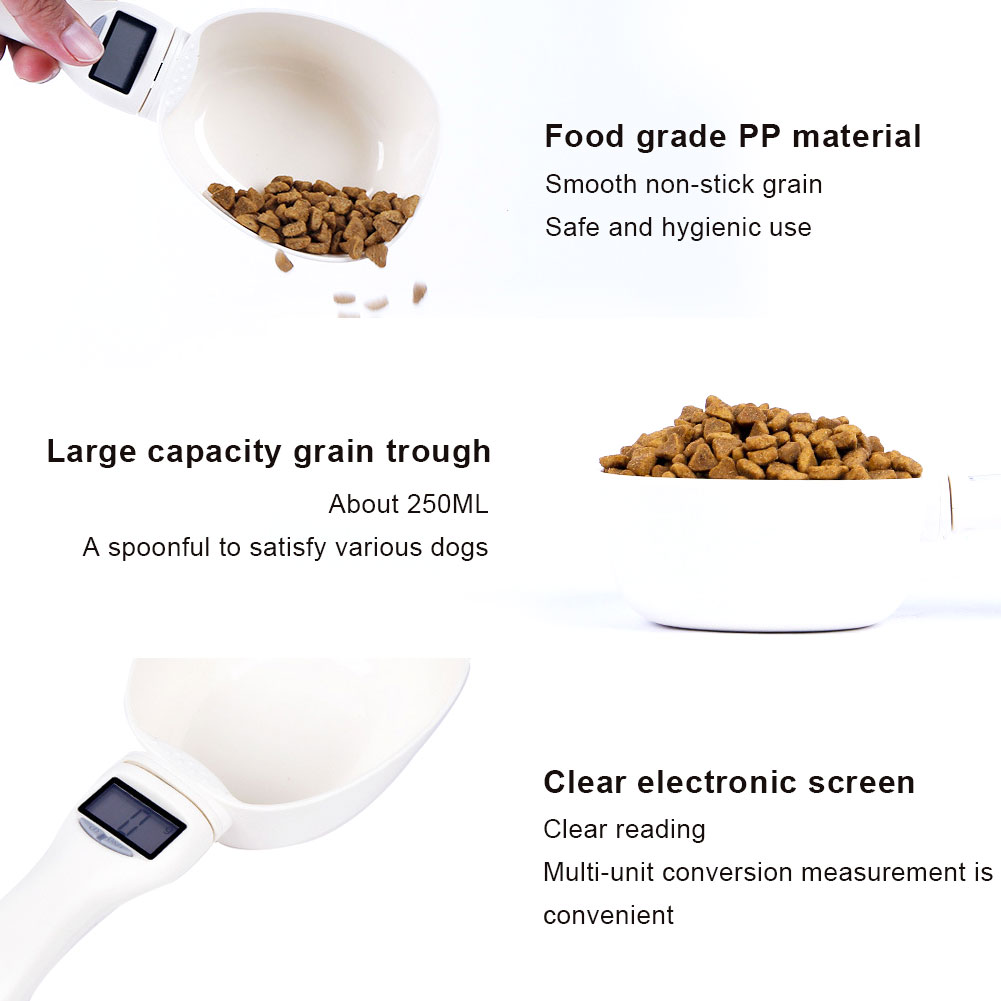 800g Pet Food Weighing Spoon With Led Display 5