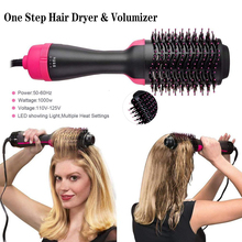 Hair Brush Hairdressing Curling Hair Dryer & Volumizer Negat