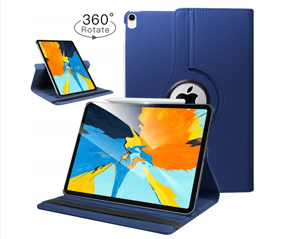 Case for IPad Pro 11 2018 A1474 A1475 <font><b>A1476</b></font> Retina Cover,Auto Sleep Cover for Ipad Case Pro 11 Release 360 Degree Rotating Case image