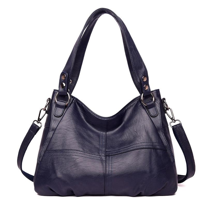 Zdg bolsas de moda feminina de luxo bolsa de ombro para as mulheres de alta qualidade couro do plutônio mensageiro saco de compras preto