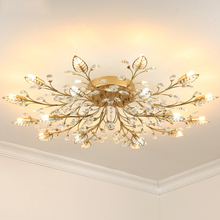 TRAZOS New item fancy ceiling light LED Crystal lamp modern lamps for living room lights,AC110-240V DIY lighting