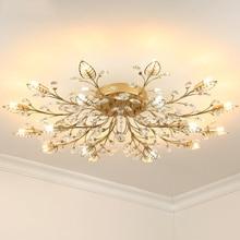 plafondlamp Kristallen AC110-240V Crystal
